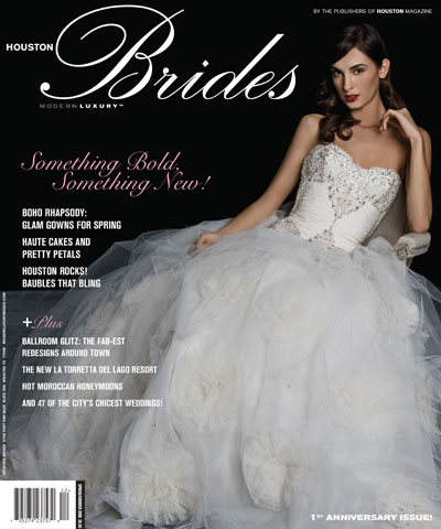 Houston Brides Modern Luxury (Spring/Summer 2009)